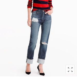 J.Crew for Net-A-Porter Point Sur Boyfriend Jeans